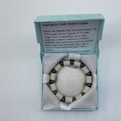 EM Keramik Mineral Armband Hämatit